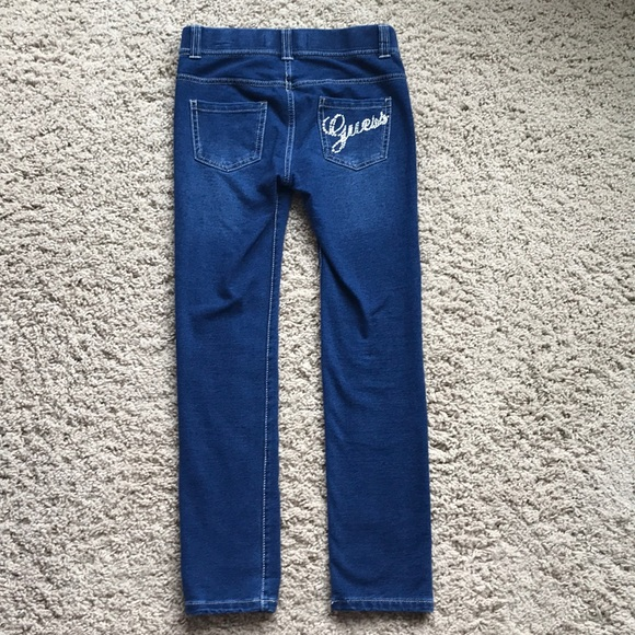 classic fit complete in specifications newest style of Girl's Guess Jean jeggings
